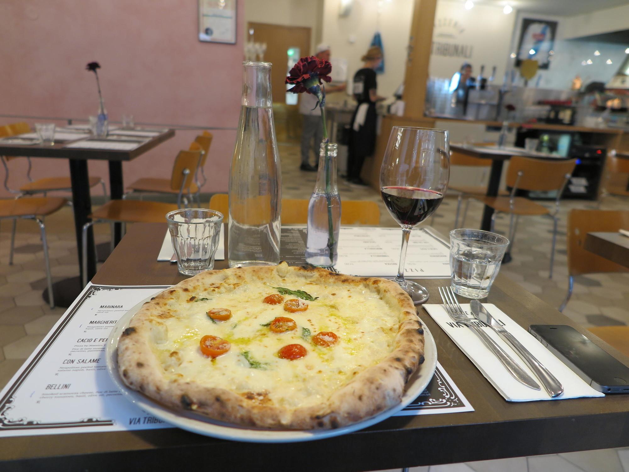 Pizzan Paistoaika